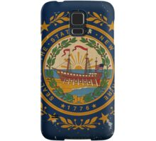 New Hampshire State Flag VINTAGE Samsung Galaxy Case/Skin