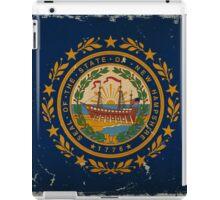 New Hampshire State Flag VINTAGE iPad Case/Skin