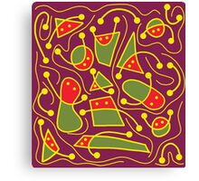 Playful abstraction Canvas Print