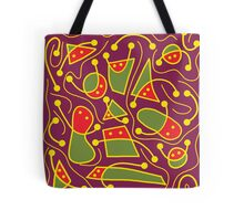 Playful abstraction Tote Bag