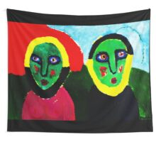 Magnetic Couple Wall Tapestry