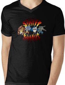 Street sharks Mens V-Neck T-Shirt