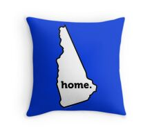 New Hampshire. Home. Throw Pillow