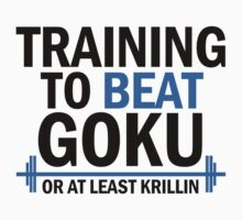 Training to beat goku - Krillin 4 by Lamamelle2nd