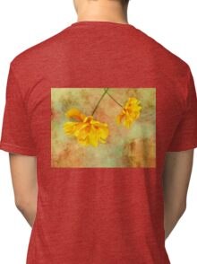 Watercolor Flowers Tri-blend T-Shirt