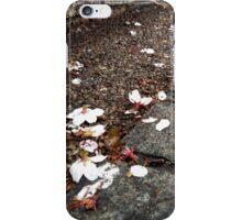 Hanami's end iPhone Case/Skin