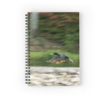 Dynamism of a Cormorant Spiral Notebook