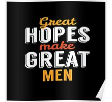 Make great men  Poster