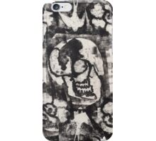 Square Skulls 'N' Roses (extra options) iPhone Case/Skin