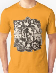 Square Skulls 'N' Roses (extra options) Unisex T-Shirt