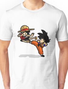 son goku vs luffy Unisex T-Shirt