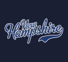 New Hampshire Script Blue by USAswagg2