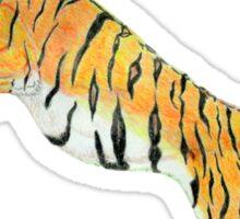 Save Tigers Sticker