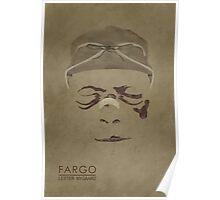 Fargo Broken Nose Lester Nygaard Poster
