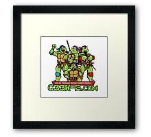 G33k-e.com - TMNT Parody Framed Print