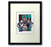 Frieza & Family Framed Print