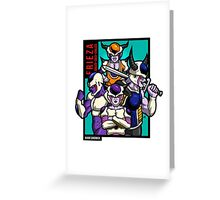 Frieza & Family Greeting Card