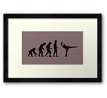 Evolution AM Framed Print