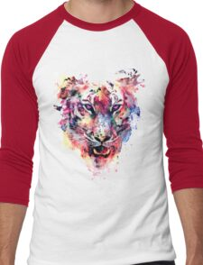 Eye Of The Tiger Men's Baseball ¾ T-Shirt