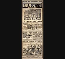 Performing Arts Posters TJ Downs mammoth new Uncle Toms Cabin Co 1949 Unisex T-Shirt