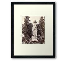 Wild Bill's Monument - John Grabill - 1891 Framed Print