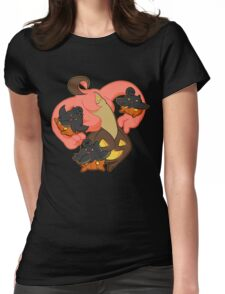 Pumpkin Party Womens Fitted T-Shirt