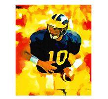 Mr. Tom Brady at Michigan Photographic Print