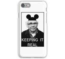 Baudrillard - Keeping it real iPhone Case/Skin