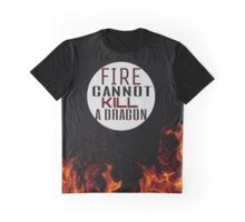 Fire and Dragons Graphic T-Shirt
