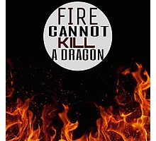 Fire and Dragons Photographic Print