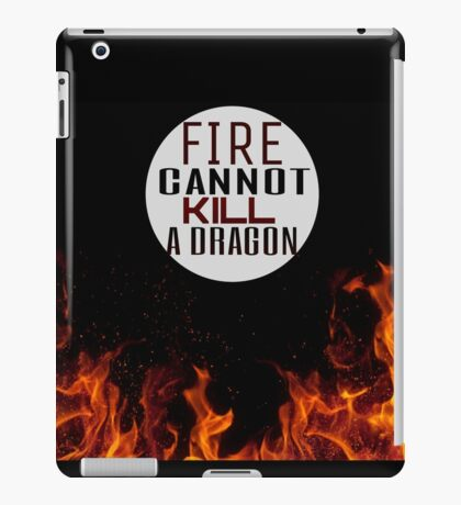 Fire and Dragons iPad Case/Skin