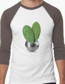 Cactus disco party Men's Baseball ¾ T-Shirt