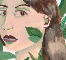Miss Rainforest Sticker