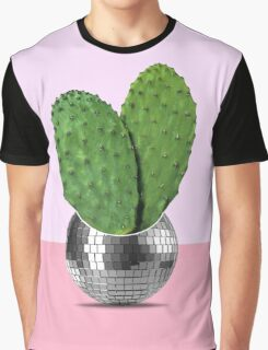 Cactus disco party Graphic T-Shirt