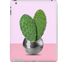 Cactus disco party iPad Case/Skin