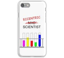 eccentric scientist iPhone Case/Skin