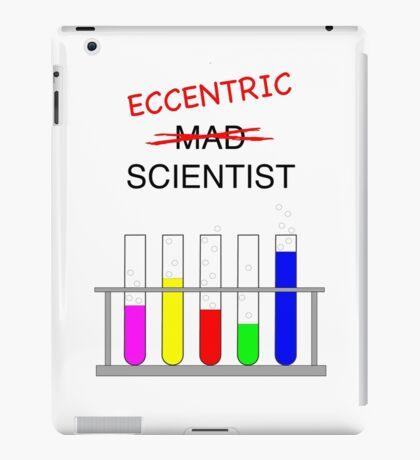 eccentric scientist iPad Case/Skin