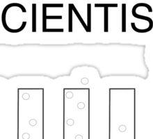 eccentric scientist Sticker
