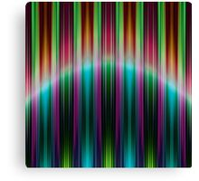 Colourful speed stripes pattern Canvas Print
