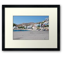 Tilos island, Greece Framed Print