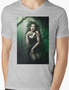Dark Fairy Mens V-Neck T-Shirt