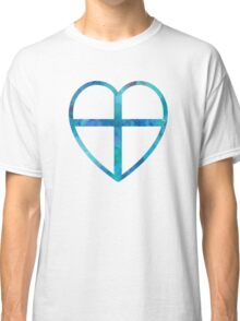 Heart And Cross Classic T-Shirt