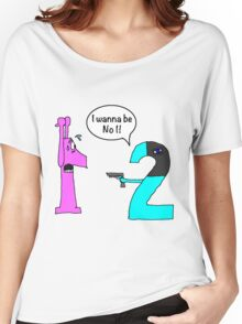 When your numer is up... Women's Relaxed Fit T-Shirt