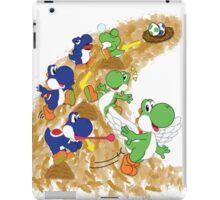 Two Yoshis iPad Case/Skin