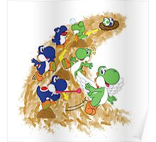 Two Yoshis Poster