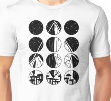 Mountains and Stars Unisex T-Shirt
