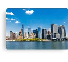 New York City panorama Manhattan Skyline Canvas Print