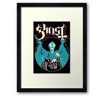 ghost castle Framed Print