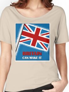 Britain can make it,  retro vintage Women's Relaxed Fit T-Shirt