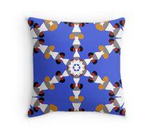 Kaleidoscope - Ships - detail Throw Pillow